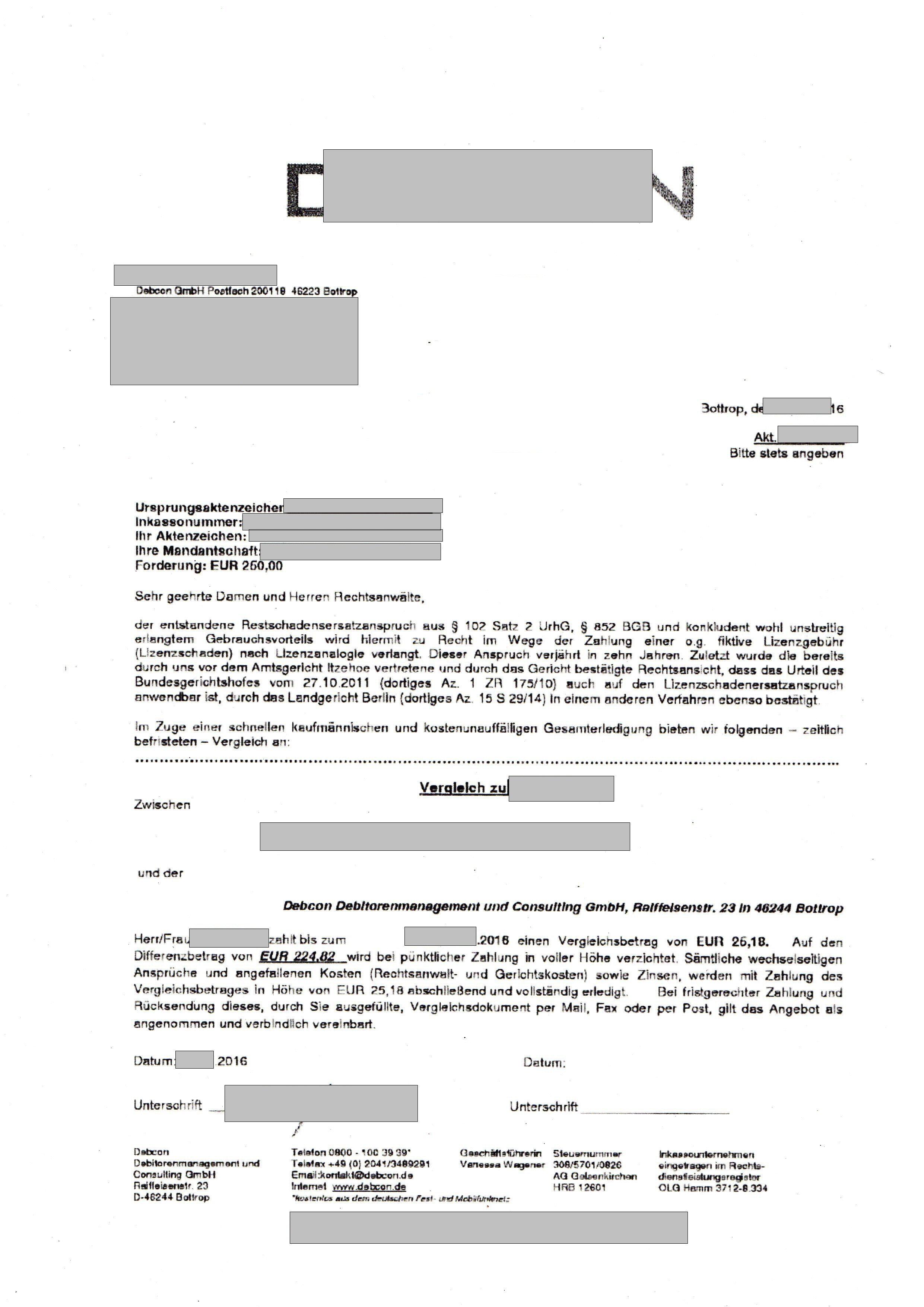 Forderungen Von Der Debcon Gmbh Chmiel Consulting Seite 162