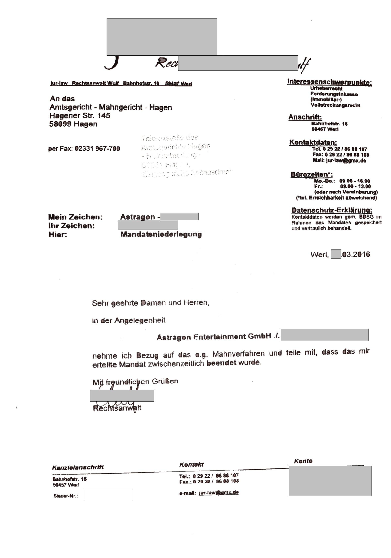 Forderungen von der Debcon GmbH / CHMIEL CONSULTING - Seite 159 ...