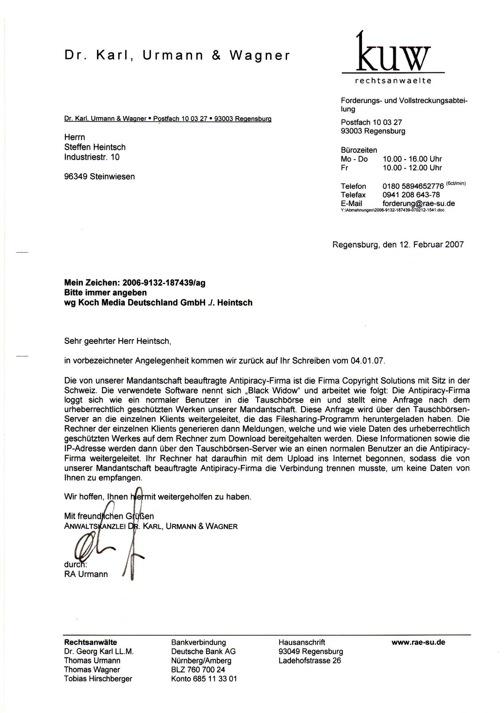 Schön Ausschreibung Antwortvorlage Zeitgenössisch - Entry Level ...